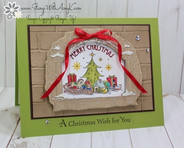 Stampin Up Best Gifts Christmas Card Stamp With Amy K