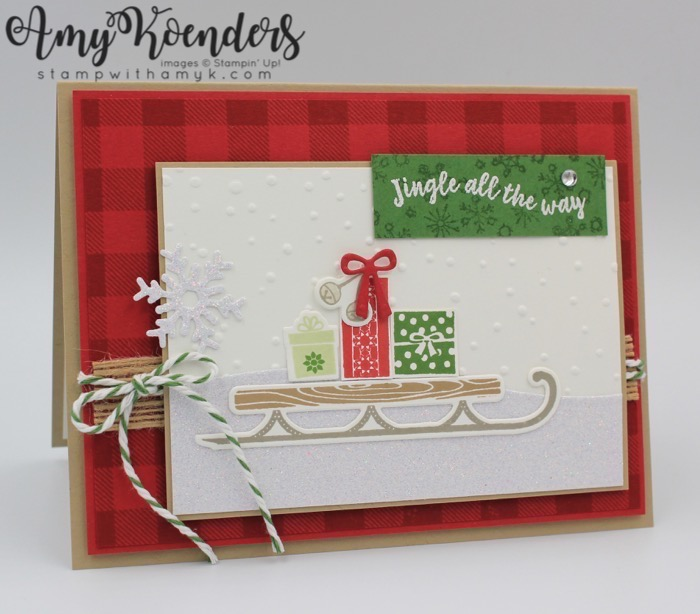 Stampin Up Alpine Adventure For The Inkin Krew Blog Hop