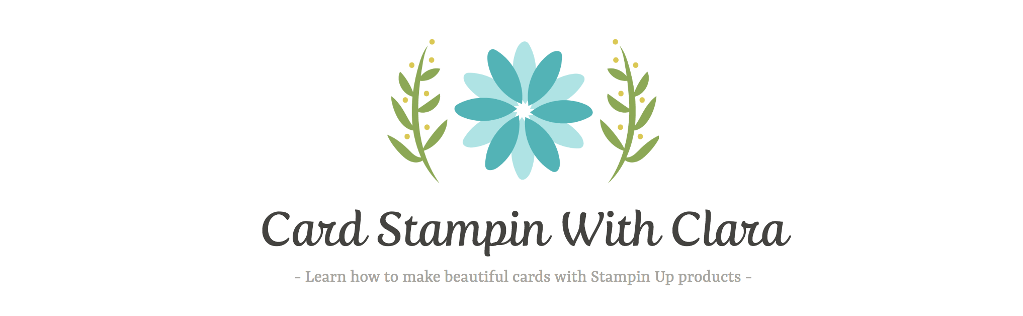 Card Stampin With Clara